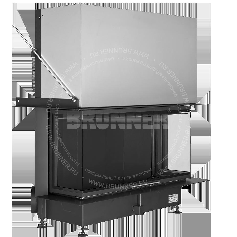 BRUNNER Panorama-Kamin 51/25/101/25 Black