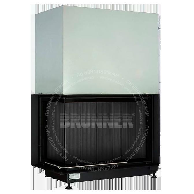 Закрытая угловая каминная топка BRUNNER Eck-Kamin 57/82/48 Black Left Classic
