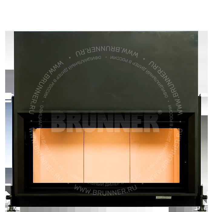 Закрытая прямая каминная топка BRUNNER Architektur-Kamin 45/101 Flat Classic с подъемом